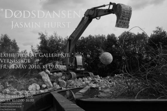 """""""Dødsdansen"""" av Jasmin Hurst"""