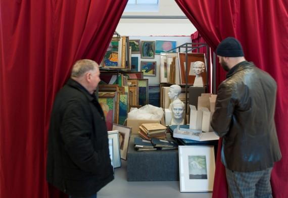 Unnar Orn. Photographer Gudmundur Ingolfsson with the courtesy of  LA Art Museum, Hveragerdi