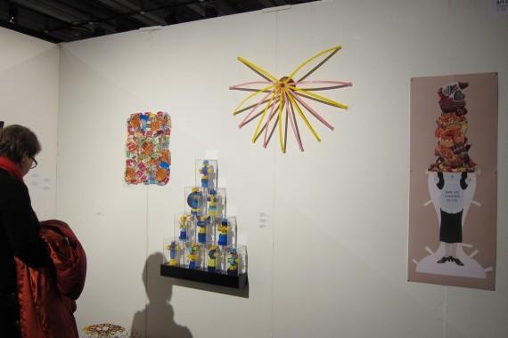 Art on Armitage, Chicago, installasjonsfoto.