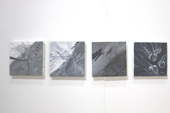 ID:I Gallery, Stockholm: Ann Frössén, installasjonsfoto