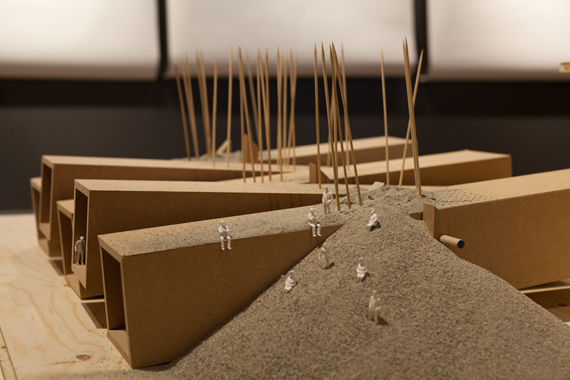 """""""Shoyna Dissected - Chests Of Sand"""" detalj."""