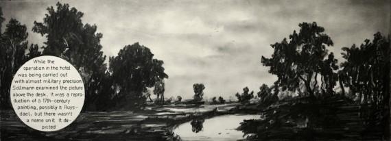 Marcel van Eeden, 'The Room'. Foto: Galleri Bo Bjerggaard