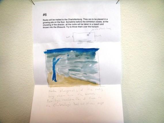 David Horvitz: verk til POST-utstillingen. Foto: Hanne Cecilie Gulstad