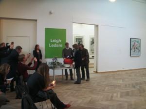 Her trekkes vennskapskommune som får gratis adgang til kunsthallen. Foto: Hanne Cecilie Gulstad