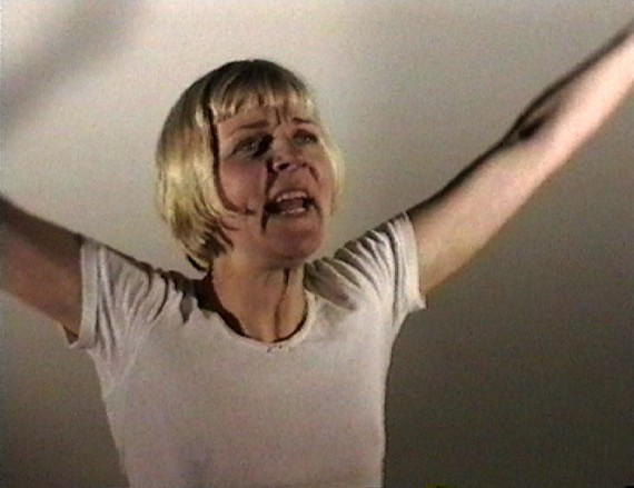 Lotte Konow Lund, ´The Total Cycle of Psychoanalysis in Seven Minutes´, 1998.  Video. © Museet for samtidskunst