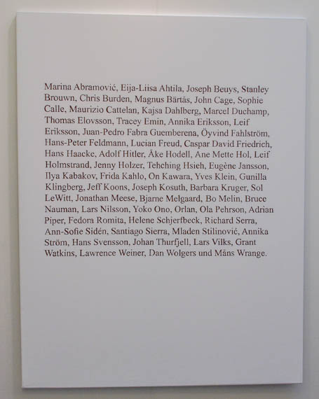 Oscar Guermouche, 'They made me do it', 2013. Galleri Anna Thulin, Stockholm.