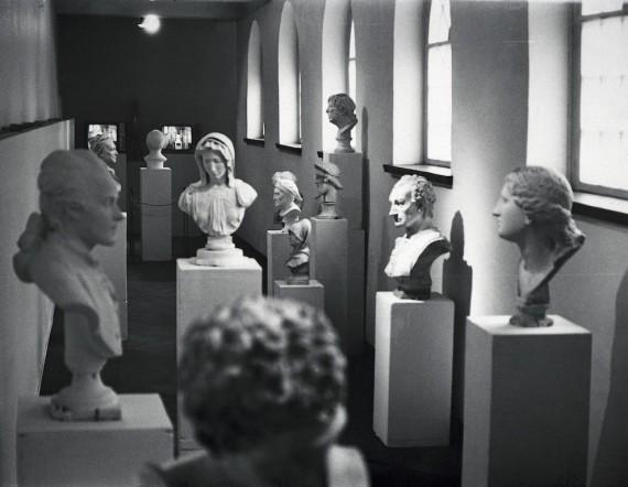 Marianne Heske, ´Hall of Fame´, 1978. Videoinstallasjon. © Museet for samtidskunst.