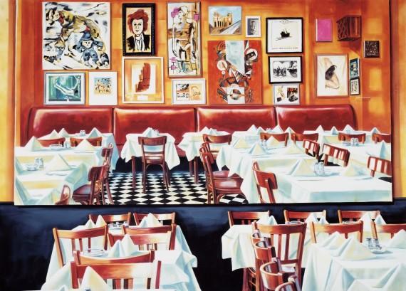 Martin Kippenberger, 'Paris Bar', 1993. François Pinault Foundation © Estate Martin Kippenberger, Galerie Gisela Capitain, Köln