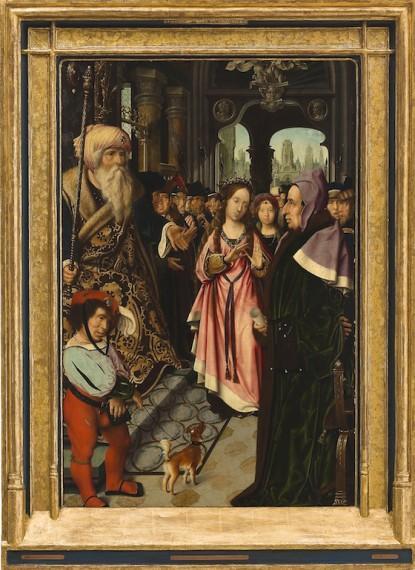 3.Jan Provoost, ´Den hellige Katharina av Alexandrias disputasjon´, 1520–25. © Museum Boijmans van Beuningen