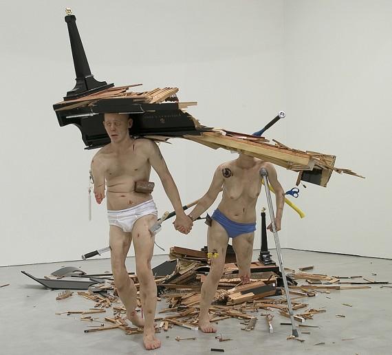 Tony Matelli, 'Fucked (Couple)', 2005. Foto: ARoS Aarhus Kunstmuseum