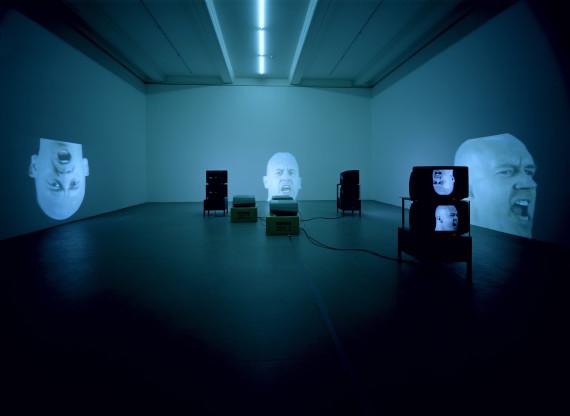 Bruce Nauman, 'Anthro/Socio (Rinde Spinning)' (1992) © Hamburger Kunsthalle, Hamburg