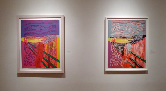 Andy Warhol, The Scream (After Munch), 1984. Collection of Henriette Dedichen, Oslo – The Museum of Modern Art, Gift of Nelson Blitz, Jr., in honor of Riva Castleman, 588.1944. ©2013 The Andy Warhol Foundation forthe Visual Arts, Inc./Artists Rights Society (ARS), New York. Photo: Trine Otte Bak Nielsen.