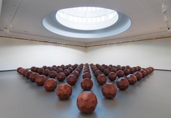 Ai Weiwei, '81 Trekuler', 2012. Foto: Dag Fosse