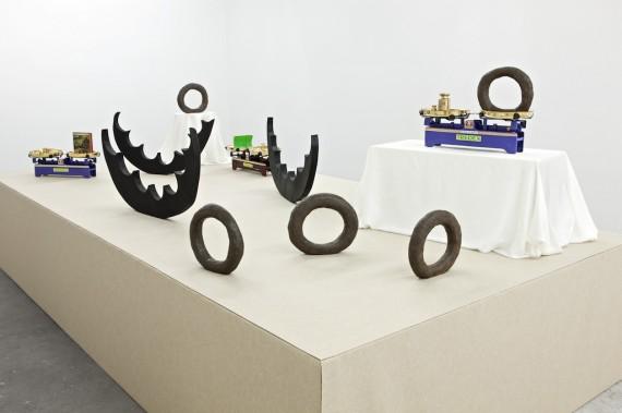 Michaela Meise, Recent Works, 2013. Installation view. Photo: Vegard Kleven