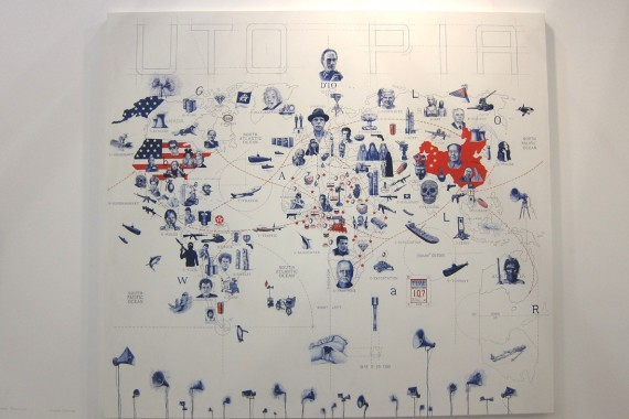 prometeo gallery, Milano: Guiseppe Stampone