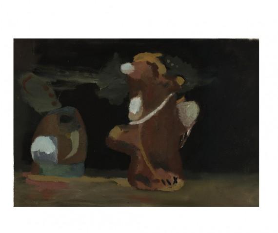 Goutam Ghosh, 'Viem-Voxx',, Oil on canvas, 65 cm x 50 cm, 2012.