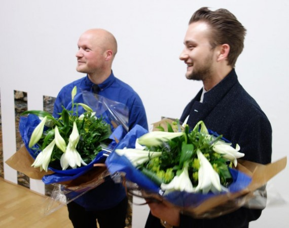 Eirik Dørsdal og Bjarne Bare. Foto: Risør kommune