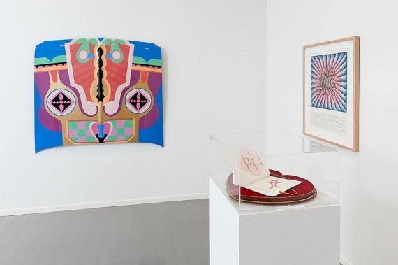 Judy Chicago, 'Deflowered' på Oslo Kunstforening, installasjonsfoto. Foto: Istvan Virag