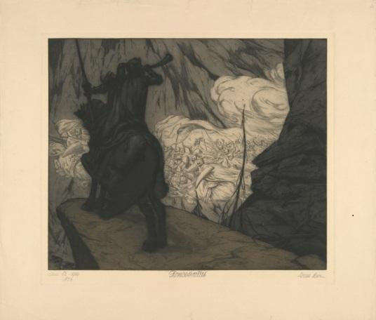"""Louis Moe, """"Roland Roncesvalles"""" (1909)"""