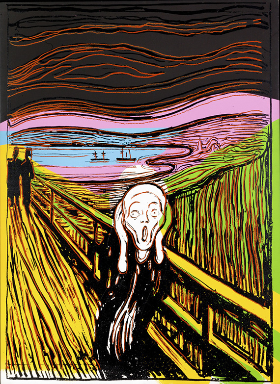Andy Warhol – The Scream (After Munch), 1984