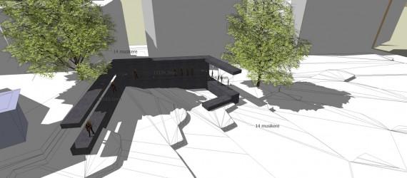 Skisse til Transformer-prosjektet i Ullevålsveien