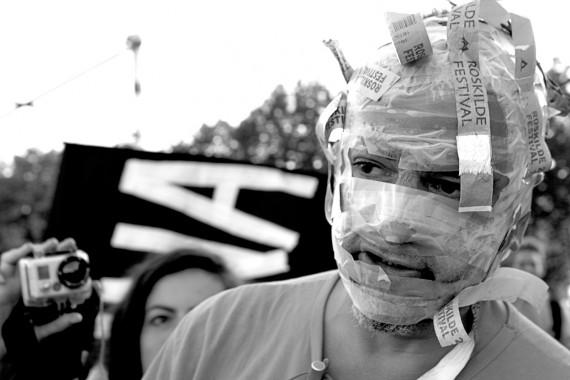 """""""Fuck Hypocrisy"""". Foto: Anders Hybel Bräuner"""
