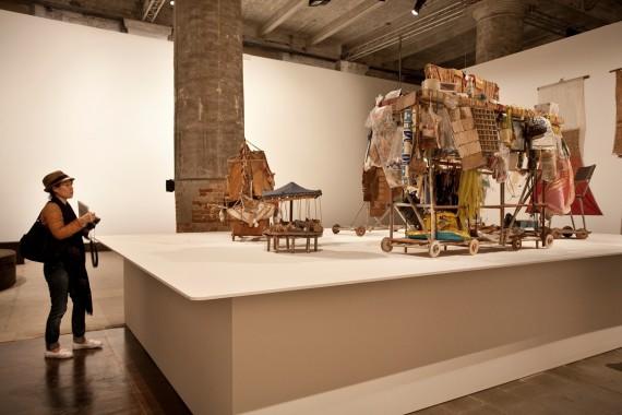 Arthur Bispo do Rosário, Tutte le opere senza data, udatert. Venezia-biennalen. Foto: Francesco Galli ©la Biennale di Venezia