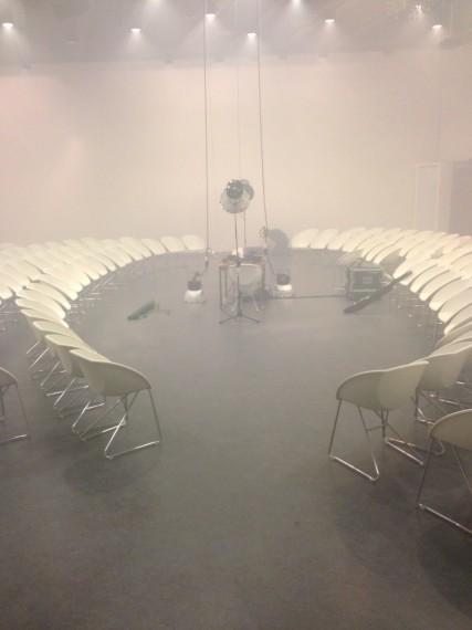 Installation view, Arne Nordheim i kunsten. Photo: Øystein Thorvaldsen.