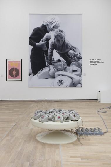 Installation view, Arne Nordhiem i kunsten. Photo: Øystein Thorvaldsen.