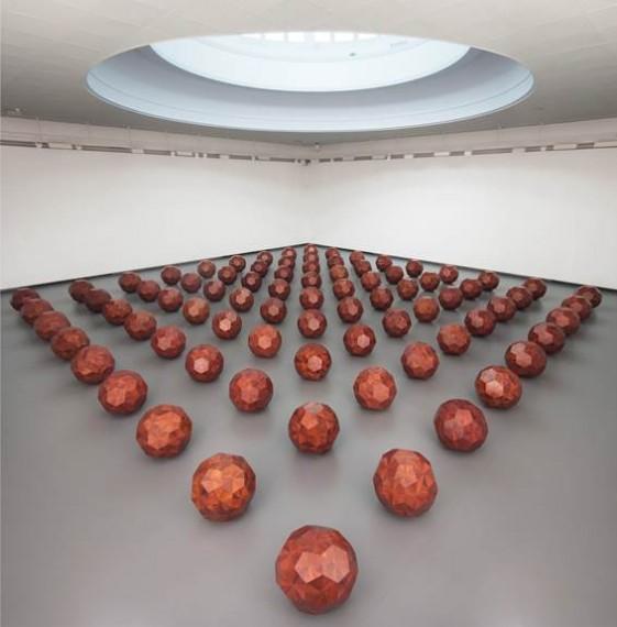 Ai Weiwei på KODE - Kunstmuseene i Bergen. Foto: Dag Fosse