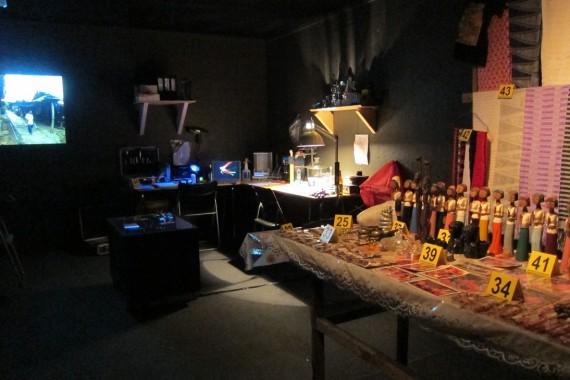 Lars Cuzner og Fadlabi, Forensics of Attraction, 2013. Foto: Monica Holmen