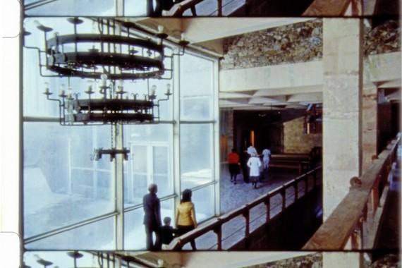 Josef Dabernig, Hypercrisis, 2011. Film stills on Super16mm colour stock. Courtesy of the artist, Galerie Andreas Huber, Vienna, and Wilfried Lentz, Rotterdam