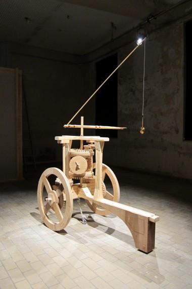 Pedro Gómez-Egaña, The Chariot of Greenwich, 2013.