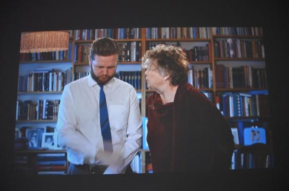 Ragnar Kjartansson: Me and My Mother. Video.