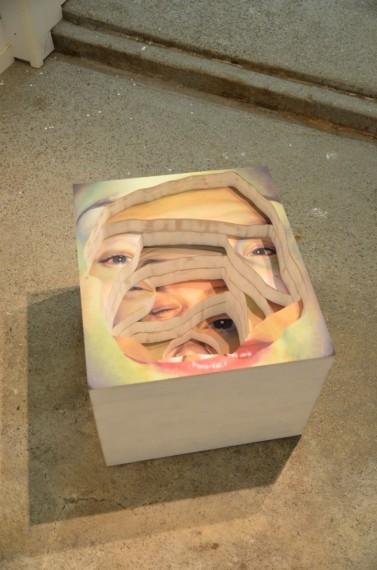 Kristin Austreid: Dissolve Contain. Maleri/ skulptur