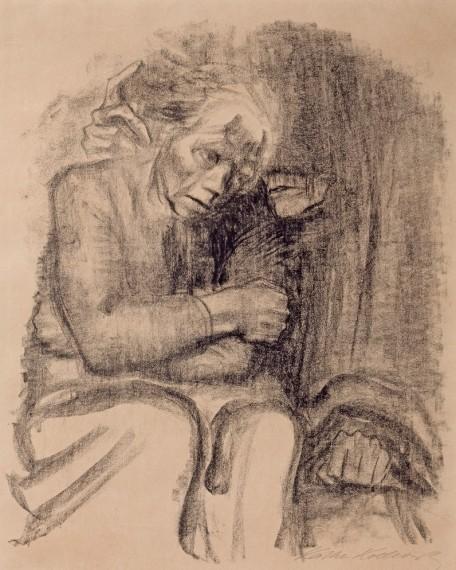 KK-1954.51-Abschied und Tod-Lithografie-1923-24-IfA-51