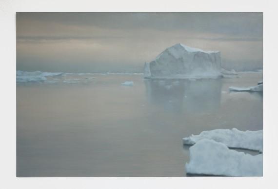 Gerhard Richter, Eisberg, 1982. 101 cm x 151 cm. Oil on canvas. Privatsamling. Foto: Toni Ott