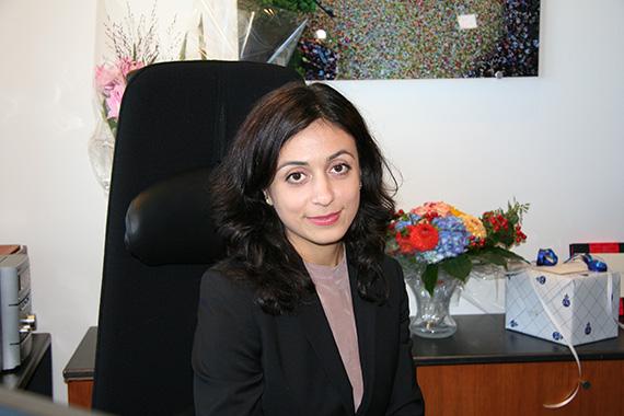 Kulturminister Hadia Tajik. Foto: KUD/Wenche Nybo