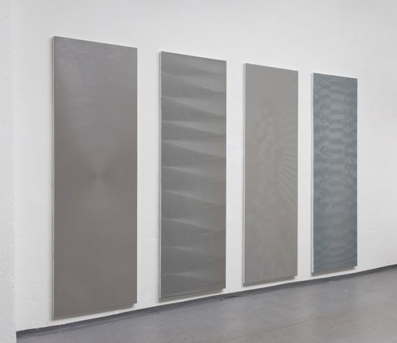 Sophie Tottie, White Lines IV 2012-13. Foto: Johann Bergenholtz
