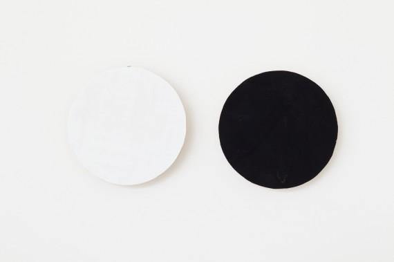 Carolus Enckell: Bindu II, 2013, 13 x 29.5 cm, Gouache on plywood, balsa