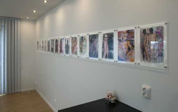 Marianne Darlén Solhaugstrand, Juicier - All Artists are Hermaphrodites. Installasjonsfoto. Foto: Jiri Havran