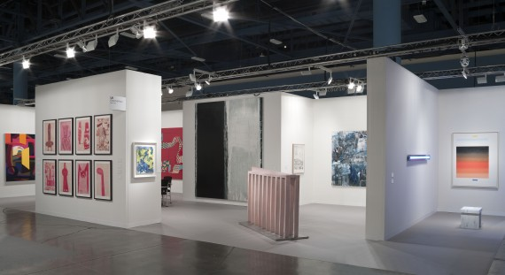 Installation view at Art Basel, Miami Beach Image courtesy of Cheim & Reid, New York