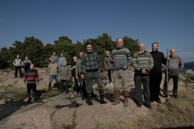 Tellervo Kalleinen & Oliver Kochta-Kalleinen, Archipelago Science Fiction, 2011, i samarbeid med Henrik Andersson. Videoinstallasjon. Foto: Henrik Andersson