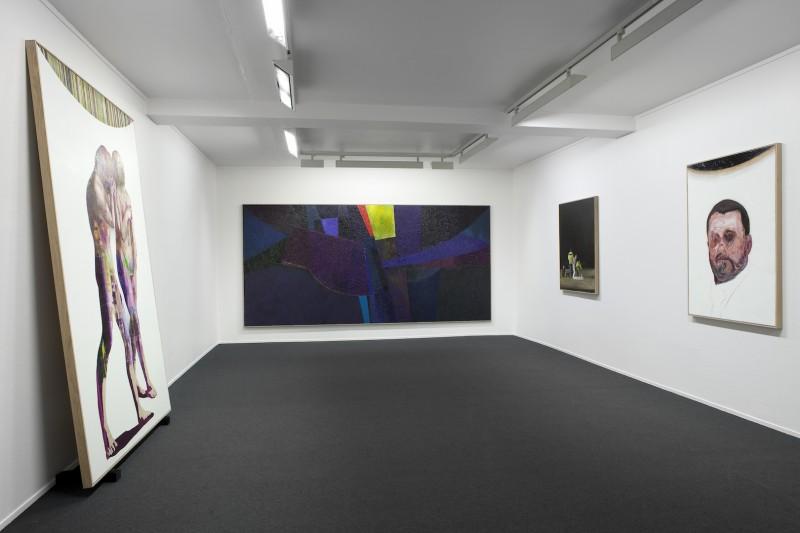 Sverre Bjertnes, Cold Reading II, installasjonsfoto Galleri K.