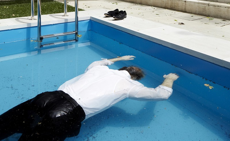 """Elmgreen & Dragset, """"Death of a Collector"""", 2009."""