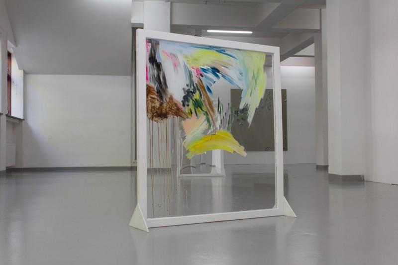 Ingrid Toogood: Balanse, 2014, akryl på pleksi. Foto: Jo Tandrevold