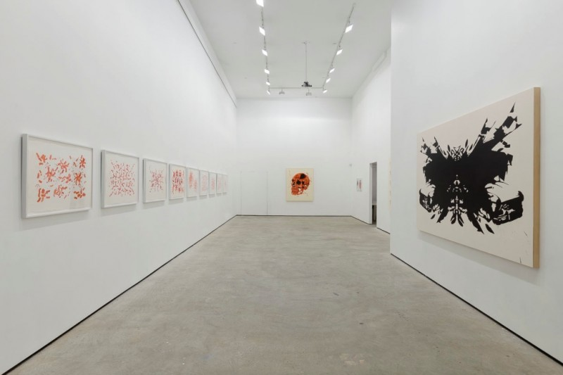 Fawad Khan: Empire of Personal Myths. Installation view. Courtesy of Lu Magnus, New York. Photo: Etienne Frossard