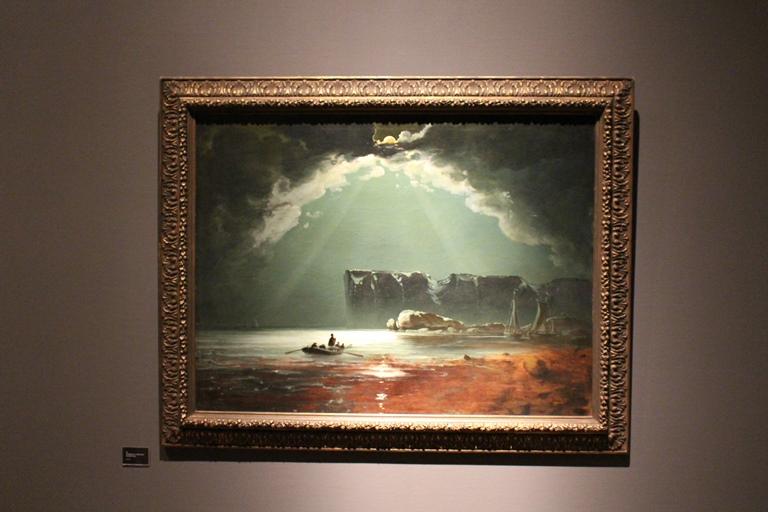 Nordkapp (antatt 1840-årene), olje på lerret, 94x123 cm, privat eie