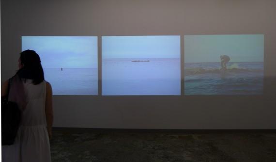 "Antti Laitinen, ""Falling Trees"", 2013. Foto: Trine Otte Bak Nielsen."