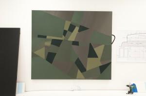 Simon Mullan: first cut / 200cm X180cm / 2013